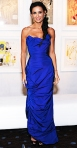 Demi Moore in an electric blue Vivienne Westwood gown at the 2011 Costume Designer Awards