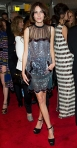 Alexa Chung in a detailed Christopher Kane dress