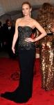 Amber Valletta in a black strapless Stella McCartney gown