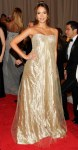 Jessica Alba in a crystal-ecrusted silk tulle Ralph Lauren Collection gown