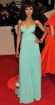 Kerry Washington in a seafoam green Escada cut-out gown