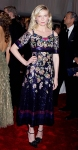 Kirsten Dunst in a beaded floral Chanel dress