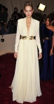 Leelee Sobieski in an ivory silk crepe dress by Vionnet