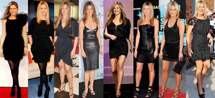 Red Carpet Review Jennifer Anistons Little Black Dress Looks