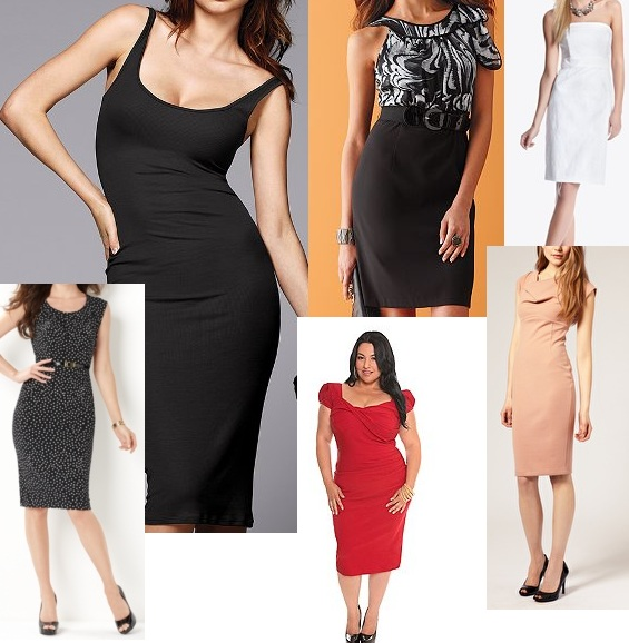 301e35761b7 Basics for a Bargain  Pencil Dresses Inspired by Olivia Wilde ...