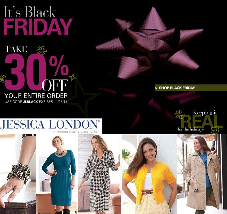 0d6bc5beb14 Black Friday Sale Update  Get 30% Off Jessica London s Plus Size Styles!
