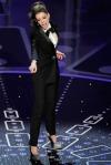 Anne Hathaway in a Lanvin tuxedo