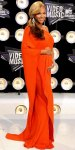 Beyonce Knowles in a single-shoulder Lanvin caftan dress with Lorraine Schwartz diamonds