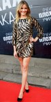 Cameron Diaz in a beaded Emilio Pucci dress with satin Lanvin heels, & Jennifer Meyer bangles