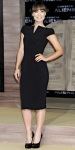 Olivia Wilde in an LBD by Tom Ford with Brian Atwood platforms