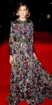 Sarah Jessica Parker in a floral Elie Saab gown