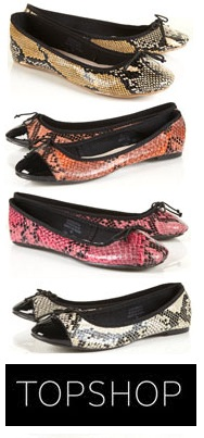 63277301a4f Quickie Darling Deal & Steal: Slip Into Faux Snakeskin Flats ...