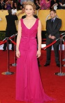 Dianna Agron in a pink Carolina Herrera gown