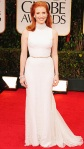 Jessica Chastain in an embroidered Givenchy gown with Harry Winston jewelry