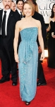Jodie Foster in a teal Giorgio Armani gown