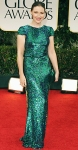 Kelly Macdonald in a sequin Lorena Sarbu gown