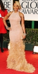 Mary J. Blige in an embroidered Michael Kors gown
