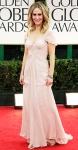 Sarah Paulson in a blush Pamella Roland gown
