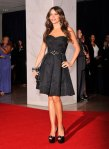 Sofia Vergara in a sweetheart David Meister gown