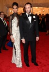 Chanel Iman in a Tom Ford design with Tom Ford