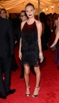 Kate Bosworth in a feathered Prada dress