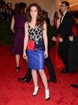 Kristen Stewart in a Balenciaga dress