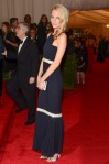 Poppy Delevingne in a black & white Chanel gown
