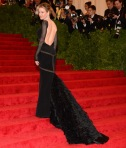 Renee Zellweger in a black backless Pucci gown