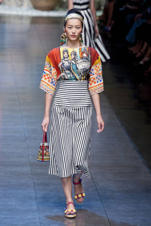 Dolce & Gabbana Spring 2013 Ready-To-Wear Collection 16