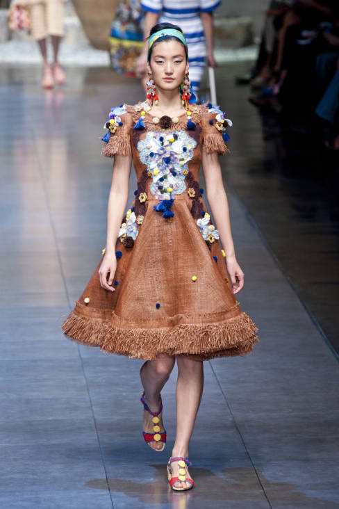 Dolce & Gabbana Spring 2013 Ready-To-Wear Collection 29