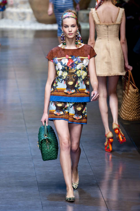 Dolce & Gabbana Spring 2013 Ready-To-Wear Collection 37