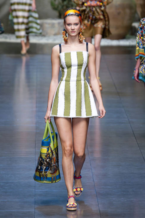 Dolce & Gabbana Spring 2013 Ready-To-Wear Collection 54