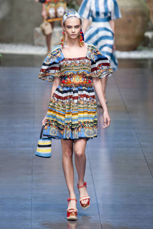 Dolce & Gabbana Spring 2013 Ready-To-Wear Collection 57