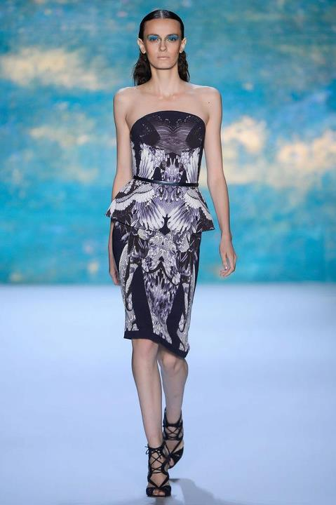Monique Lhuillier Spring 2013 Collection 01