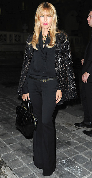 Rachel Zoe At The Lanvin Fashion Show Style Darling
