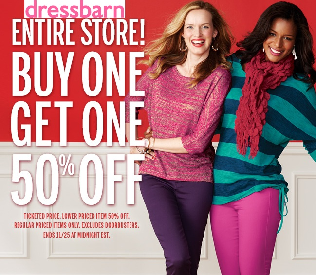 dress barn black friday