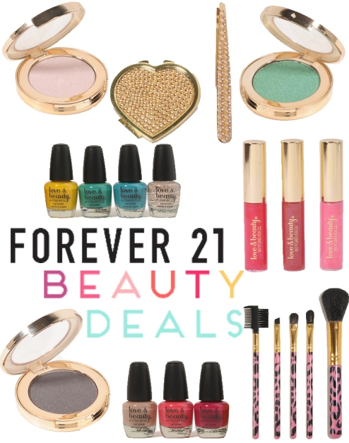Forever 21 beauty buys