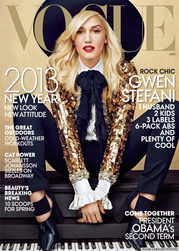 Gwen Stefani for Vogue January 2013