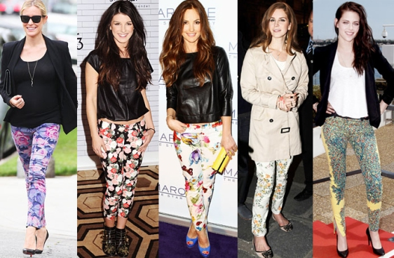 Kristin Cavallari, Shenae Grimes, Minka Kelly, Lana Del Rey, & Kristen Stewart.