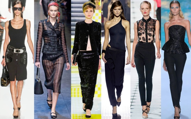 Michael Kors, Dolce & Gabbana, Louis Vuitton, Lanvin, Jason Wu, & Monique Lhuillier Spring 2013 Collections