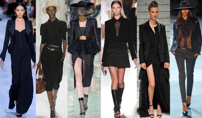 Zac Posen, Rachel Zoe, Alexander McQueen, Victoria Beckham, Holmes & Yang, & Yves Saint Laurent Spring 2013 Collections