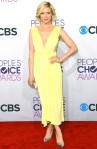 Brittany Snow in a Maria Lucia Hohen dress, Guiseppe Zanotti shoes, with a Judith Leiber clutch & Norman Silverman earrings.