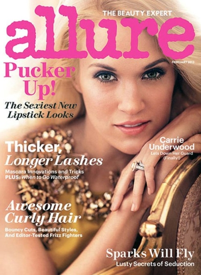 Carrie Underwood for Allure February 2013