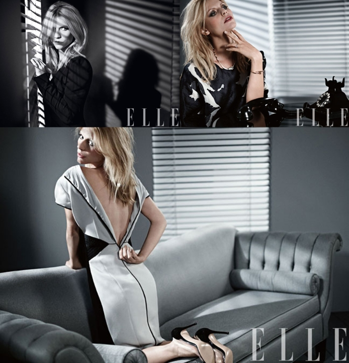 Claire Danes for Elle February 2013