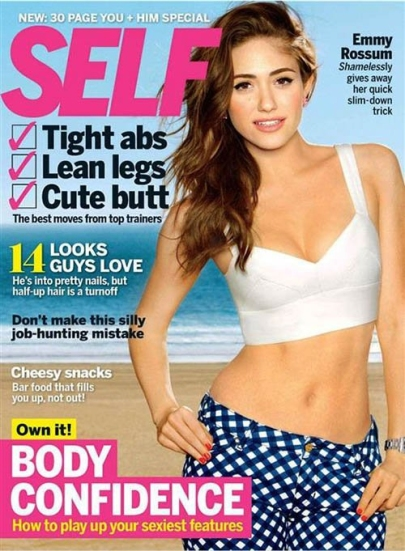 Emmy Rossum for Self February 2013