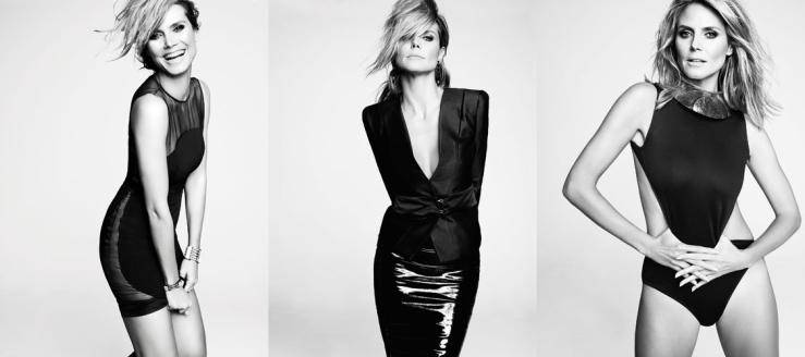 Heidi Klum for Marie Claire February 2013