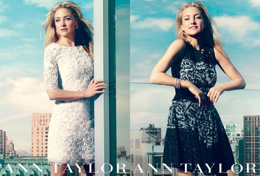 Kate Hudson for Ann Taylor