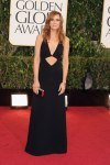 Kristen Wiig in a black cut-out gown by Michael Kors