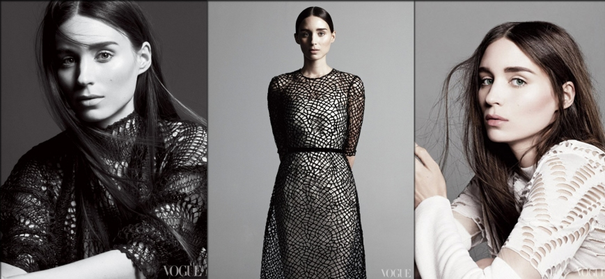 Rooney Mara for Vogue February 2013 Shoot