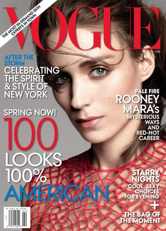 Rooney Mara for Voue February 2013